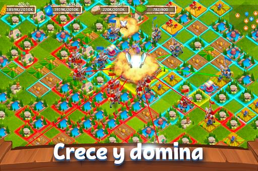 Castle Clash: Dominio del Reino modiapk screenshots 1