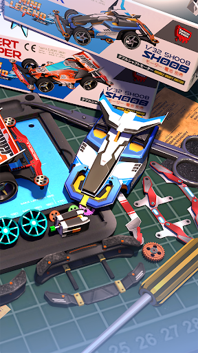 Mini Legend - Mini 4WD Simulation Racing Game  screenshots 2