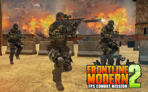 Modern Battlefield Mission II: Shooting Games 2021  screenshots 5