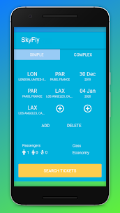 Cheap Flights Tickets Booking App – SkyFly 1.1.3 Mod + Data Download 2