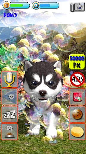 Talking Puppies - virtual pet dog to take care  screenshots 8