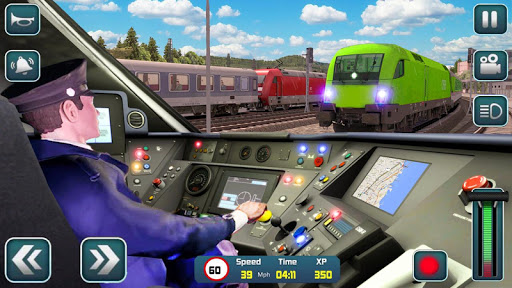 Euro Train Driver Sim 2020: 3D Train Station Games screenshots 1