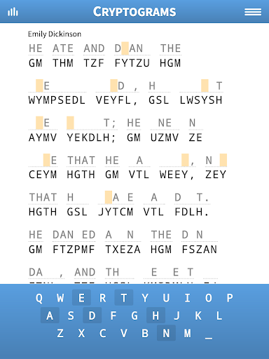 Cryptogram Puzzles 1.71 screenshots 6