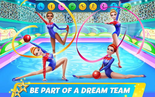 Rhythmic Gymnastics Dream Team: Girls Dance 1.0.5 Screenshots 9