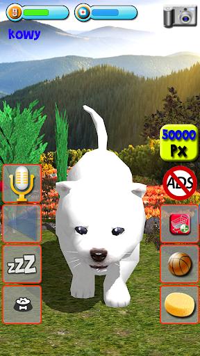 Talking Puppies - virtual pet dog to take care  screenshots 3