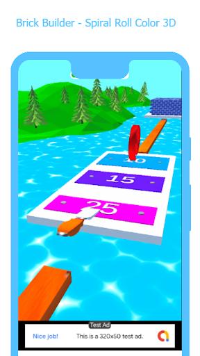 Brick Builder - Spiral Roll 3D 1.0 screenshots 3
