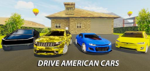 American Car Driving Simulator - Real Car Sim 1.6 screenshots 2
