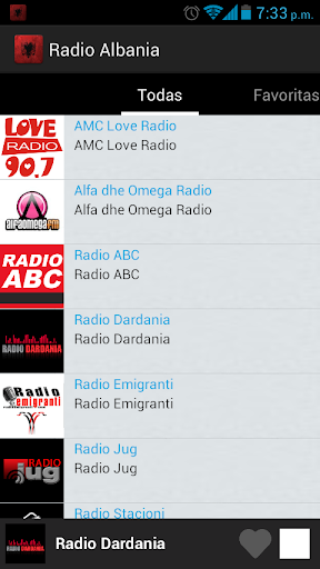 Albania Radio screenshots 3