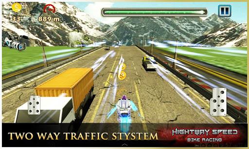 Highway Speed Motorbike Racer : Bike Racing Games  screenshots 14