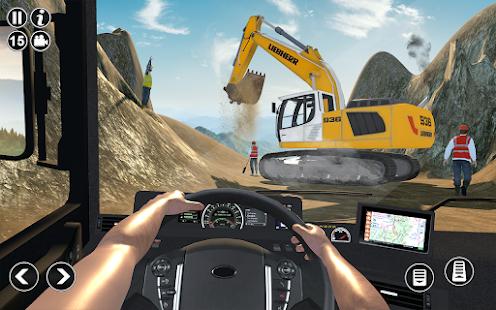 Road Construction Simulator - Road Builder Games  Screenshots 9
