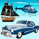子供、男の子、女の子のためのパズルゲーム-車、輸送 - Androidアプリ