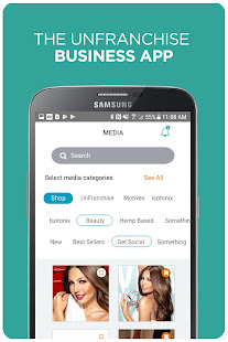 UnFranchise Marketing App