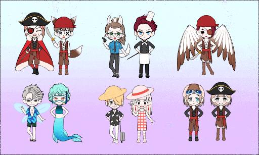 My Webtoon Character - K-pop IDOL avatar maker 2.9.1 screenshots 7