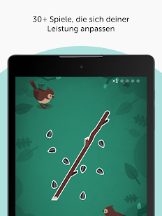 Lumosity #1 Gehirnspiele & kognitive Trainings-App Screenshot