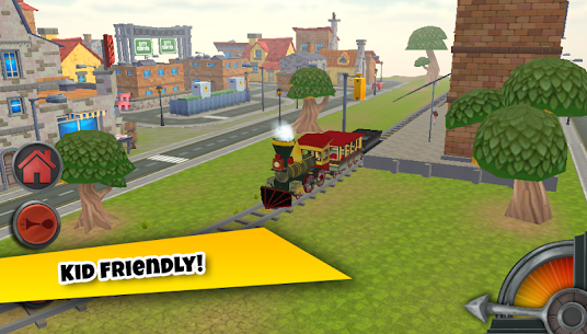 3D Train Game For Kids – Free Vehicle Driving Game 3.0 MOD for Android 3