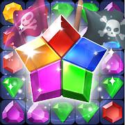 Pirate Jewel Pang: Match 3 Puzzle