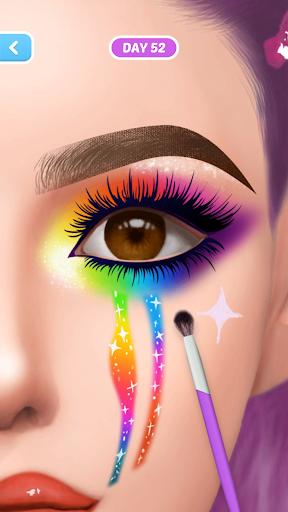 Fashion Makeup-Simulation Game apkpoly screenshots 4
