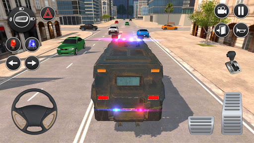 American Police Car Driving: Offline Games No Wifi screenshots 1