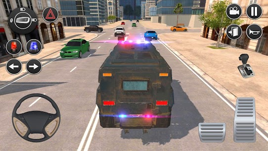 American Police Car Driving: Offline Games No Wifi 1.5 Unlocked MOD APK Android 1