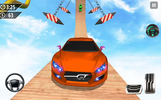 Mega Ramp Car Jumping 3D: Car Stunt Game apkmr screenshots 2