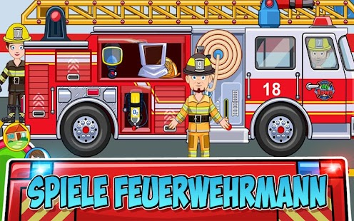 My Town : Fire station Rescue Screenshot