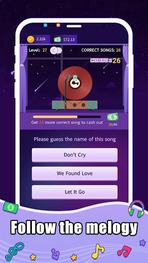 Quiz~ Guess The Song android2mod screenshots 1