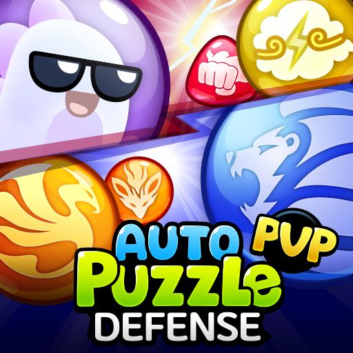 Auto Puzzle Defense : PVP Match 3 Random Defense