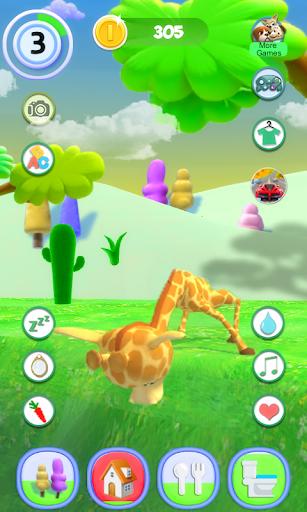 Talking Giraffe 1.54 screenshots 1