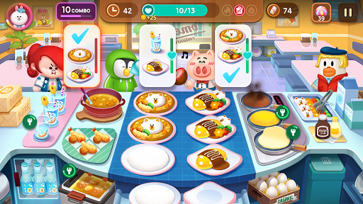 LINE CHEF Piske & Usagi Tie-Up On Now! apktram screenshots 7