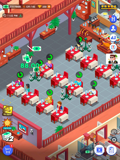 Hotel Empire Tycoon - Idle Game Manager Simulator 1.8.4 Screenshots 12