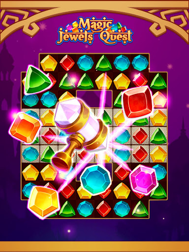 Magic Jewel Quest: New Match 3 & Jewel Games 2.0 screenshots 11