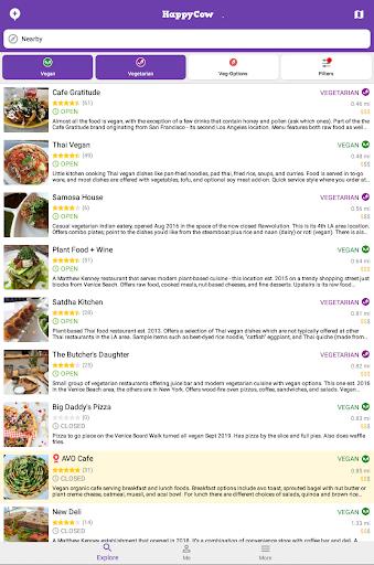 Find Vegan Restaurants & Vegetarian Food- HappyCow 62.0.56-free-v2 Screenshots 18