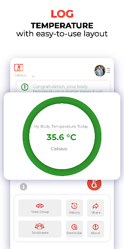 Temperature Attendance  screenshots 1