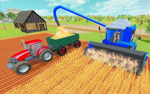 Modern Tractor Farming Simulator: Offline Games apktram screenshots 6