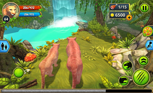 Mountain Lion Family Sim : Animal Simulator 1.8 screenshots 6