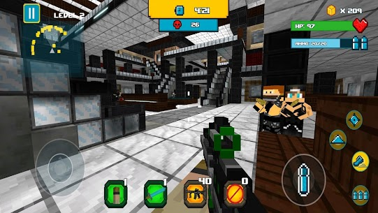 American Block Sniper Survival Mod Apk 101 (Unlimited Coin) 6