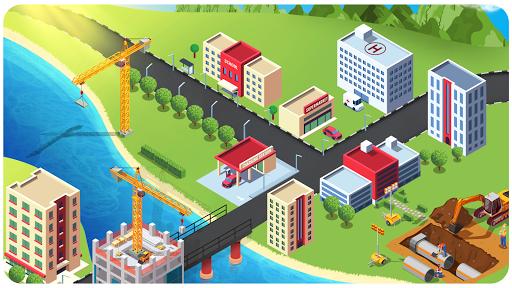 Code Triche construction de ville sim (Astuce) APK MOD screenshots 4