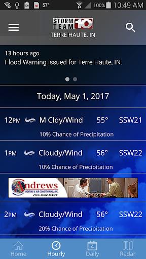 Storm Team 10 - WTHI Weather 5.2.300 screenshots 2
