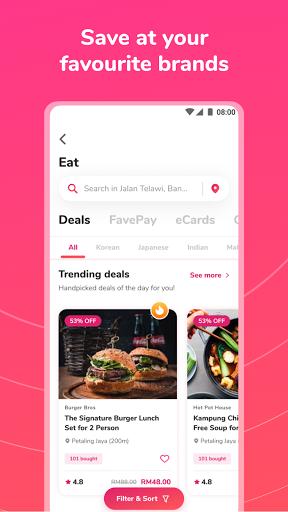 Fave - Deal, Pay, eCard  Screenshots 5