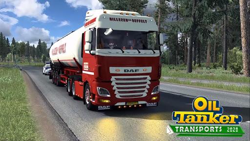 Oil Tanker Transport Simulation : Euro Truck Drive screenshots 1
