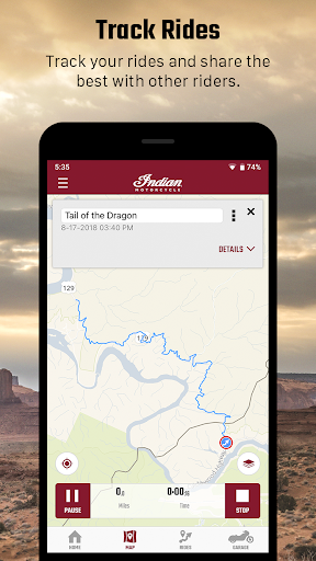 indian motorcycle ride command screenshot 3