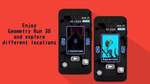 Geometry 3D Dash 0.7 screenshots 1
