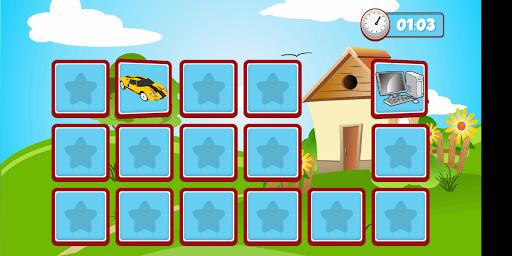 Memory game Pexeso 1.7 screenshots 2