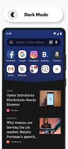 Opera Browser MOD APK: Fast & Private (Many Features) Download 5