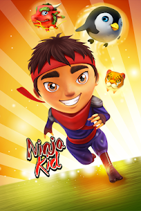 Ninja Kid Run Free – Fun Games 2
