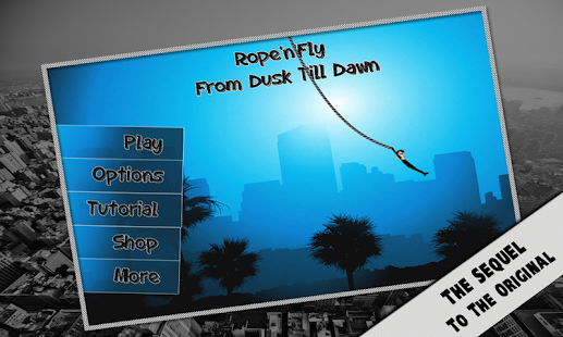 Rope'n'Fly 3 - Dusk Till Dawn Screenshot
