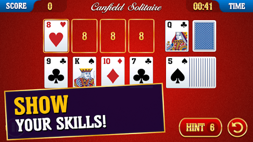 Canfield Solitaire 2.2.4 screenshots 6