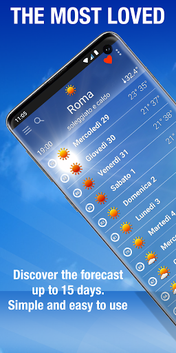 The Weather: weather forecast by iLMeteo  screenshots 1