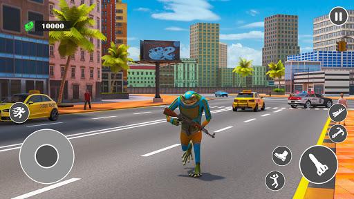 Flying Rope Hero Frog Gangster Crime City 1.0.1 screenshots 1