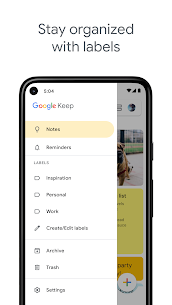 Google Keep – Notes and Lists Mod 5.21.041.04 Apk [Unlocked] 5